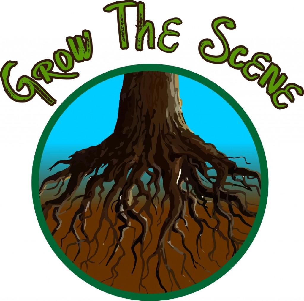 grow the scene logos 3